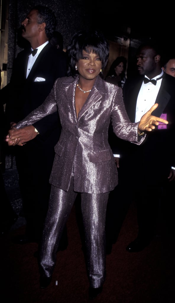 Oprah was literally shining at 1994 daytime Emmys.