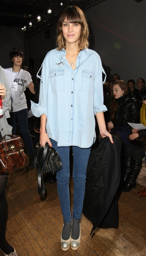 Alexa Chung + AG Jeans