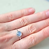 Silver & Moonstone Ring: $49