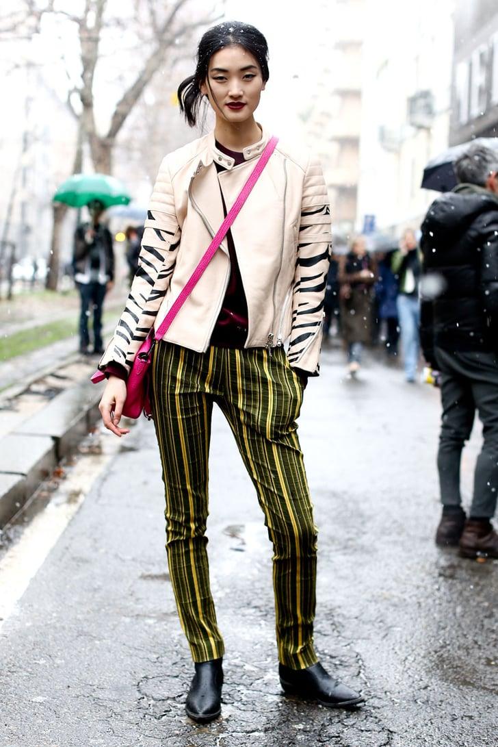 Milan Fashion Week Street Style Fall 2013 Milan Fashion Week Street Style Fall 2013 Popsugar