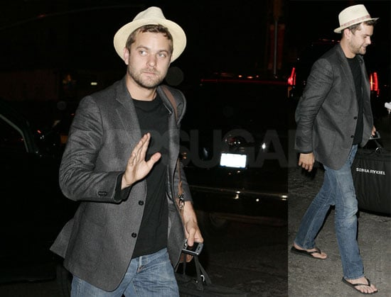 Joshua Jackson Without Diane Kruger Out in NYC