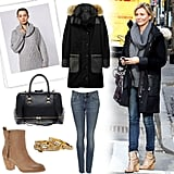 Cozy up in the perfect Winter outfit, just like Cameron Diaz.