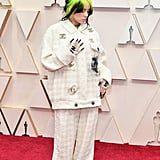 Billie Eilish on the Red Carpet at the 2020 Oscars