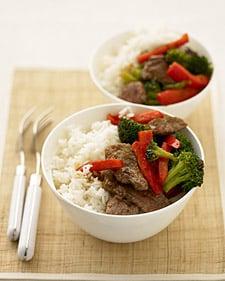 Fast & Easy Dinner: Orange Beef Stir-Fry