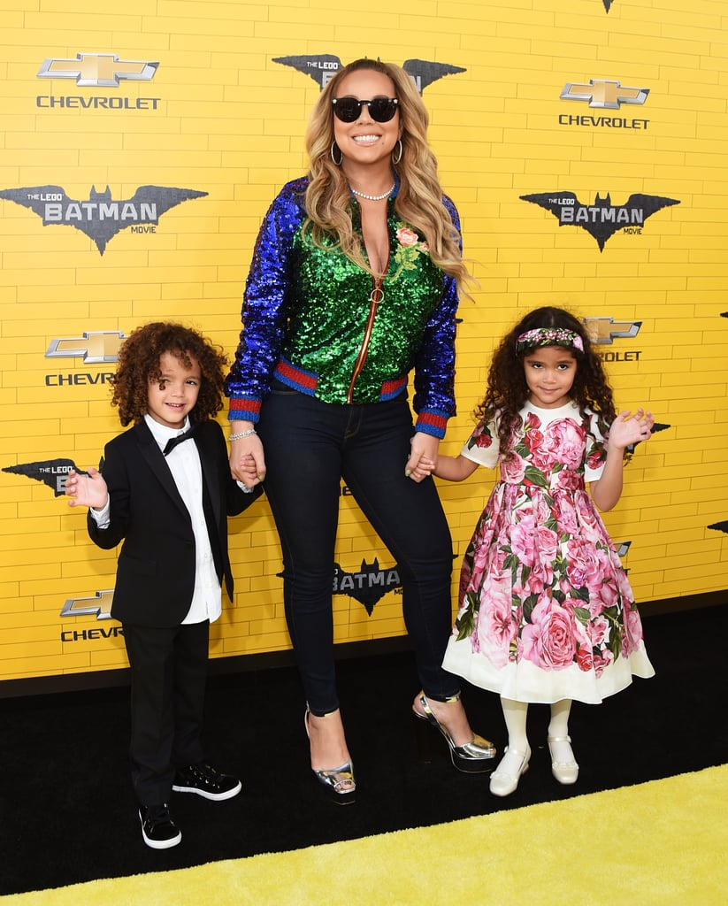 "Mariah Carey had the best dates to the LA premiere of The Lego Batman Movie on Saturday: her 5-year-old twins, Monroe and Moroccan. The doting mom held on to her little ones' hands as they made their way down the red carpet, where Monroe waved to photographers and Moroccan flashed his sweet smile. Before the premiere, Mariah shared an adorable Instagram snap of her and Monroe, and captioned it, ""On our way to the #LEGOBatmanMovie premiere. See you soon! 😘❤🎬""  Earlier this week, Beyoncé announced that she and husband Jay Z are expecting twins, and if anyone knows what she is about to go through, it's Mariah. The ""I Don't"" singer reached out to congratulate Beyoncé in the comment section of her pregnancy announcement photo on Wednesday, writing, ""Congrats Bey and Jay!!! I'm so happy for you both. Having twins is the most incredible experience ever! Love, Mariah and the twins."""