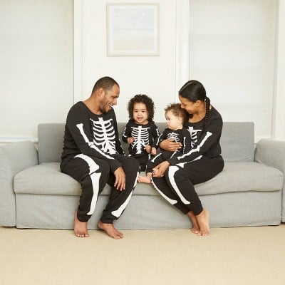 Halloween Skeleton Matching Family Pajamas Collection