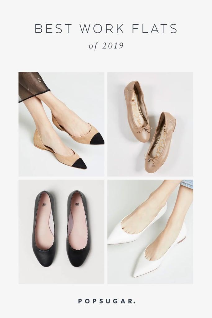 94c653786d30 Best Work Flats 2019 | POPSUGAR Fashion