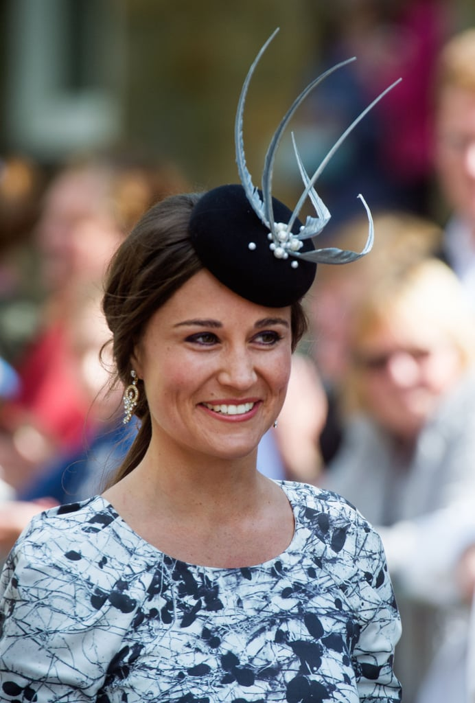 A Close Up of Kate's Hat
