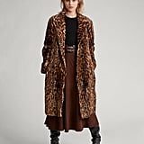 Ralph Lauren x Friends Leopard-Print Haircalf Coat