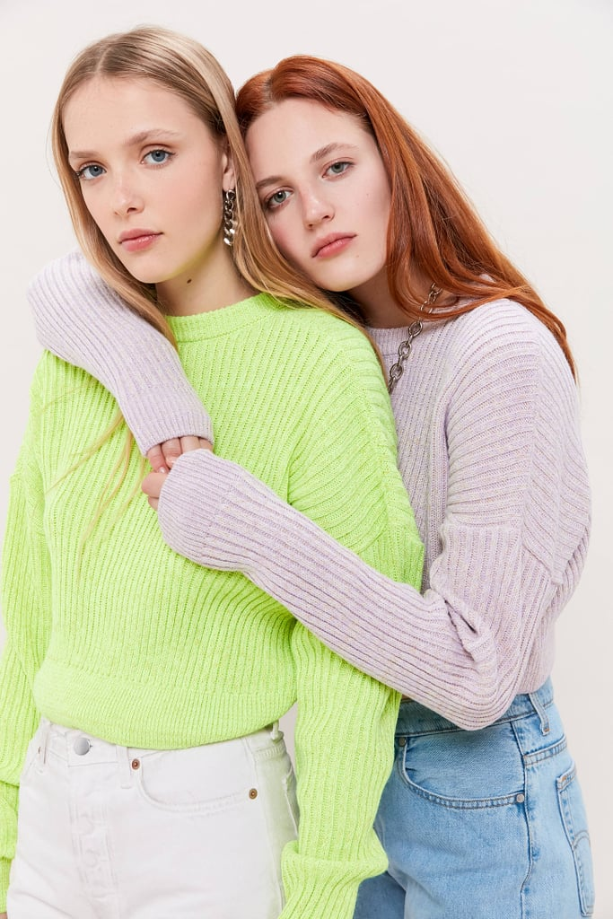 UO Big Sur Ribbed Pullover Sweater