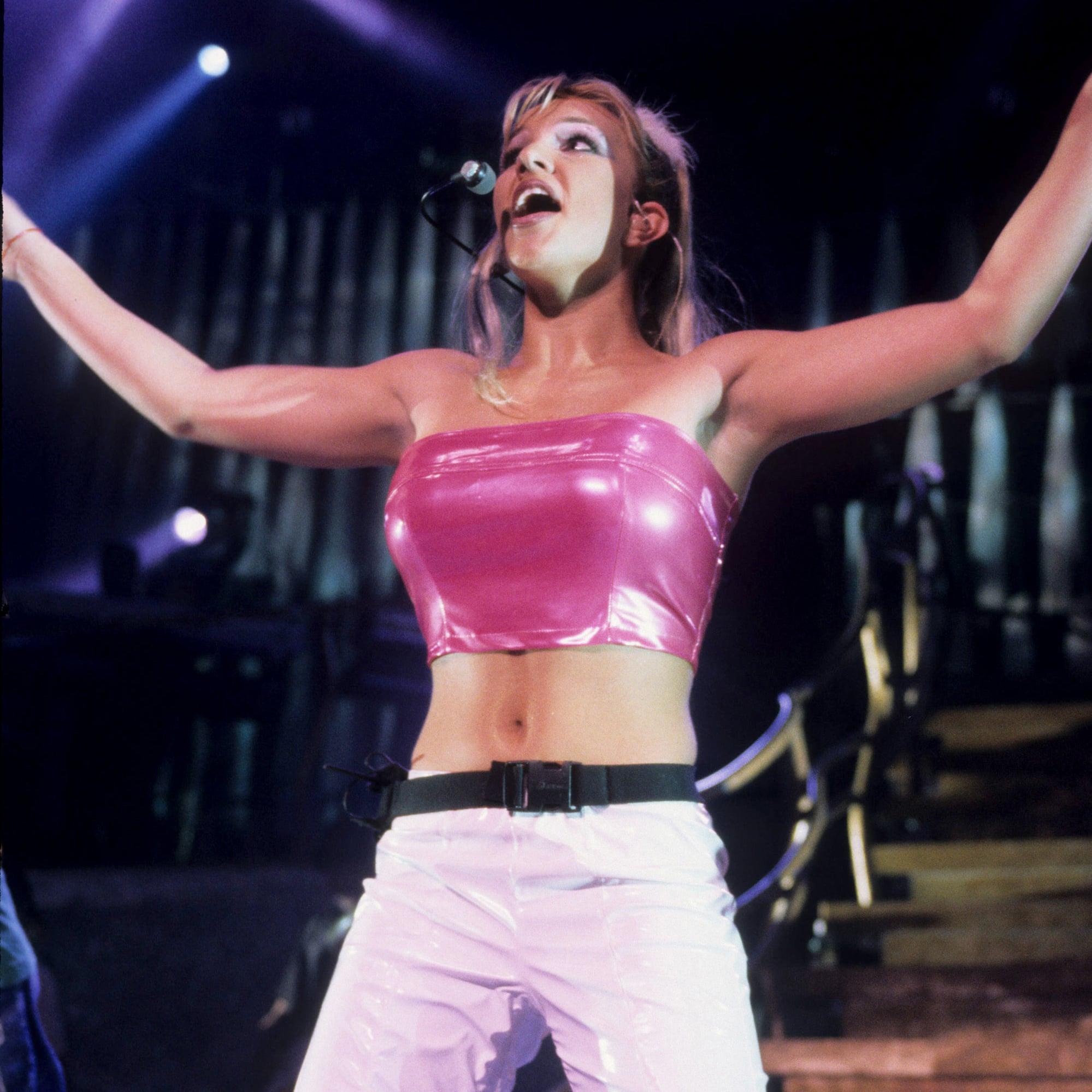 Britney Spears In The 90s Popsugar Celebrity