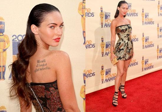 Megan Fox at the MTV Movie Awards
