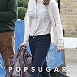 Kate Middleton Shopping in London at Zara Home