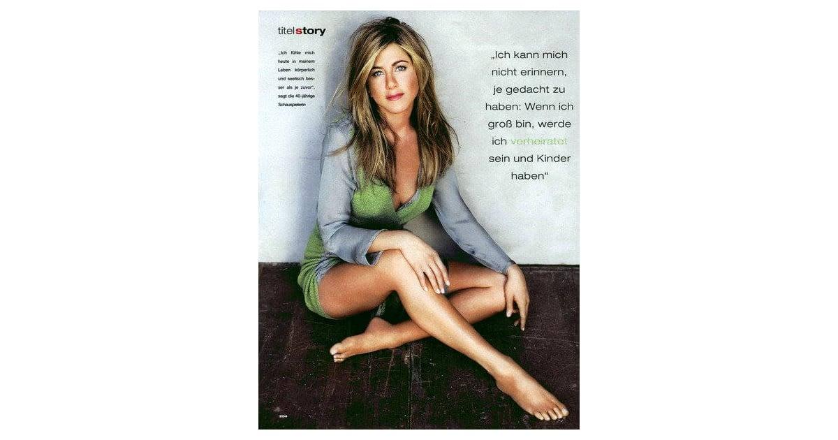 Jennifer Aniston Does Instyle Uk Magazine Popsugar Celebrity