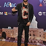 Rapper Common attended the Inaugural Youth Ball along with several other celebrities Saturday.