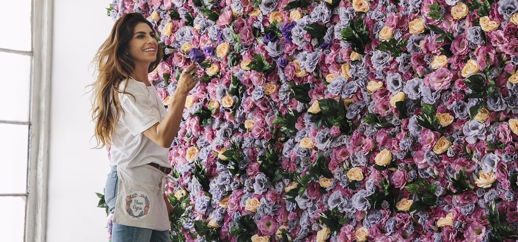 Meet the Entrepreneur Driving the Mesmerizing Flower Wall Trend