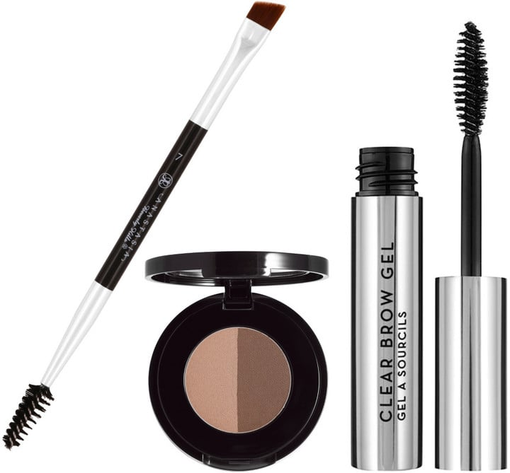 Groomed eyebrows make all the difference.  Anastasia Beverly Hills Bold Brow Kit ($36)