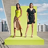 Cushnie For Target Women's Two-Tone Slip Dress and High-Low Dress