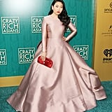 "She studied Mandarin from 2006-'08 at the Beijing Language and Culture University in Beijing, China. Prior to becoming famous she interned at the Times Union and Gotham Gazette. She was also a publicity assistant at the publishing house Rodale. Before Awkwafina began rapping at the age of 13, she played the trumpet and was trained in both classical and jazz music. She became an internet sensation in 2012 with her music video My Vag,"" which she made in response to Mickey Avalon's ""My Dick."" The video has garnered over 2.8 million views but ended up getting her fired from her corporate job."