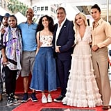 Cameron Boyce's Family at Kenny Ortega Walk of Fame Ceremony