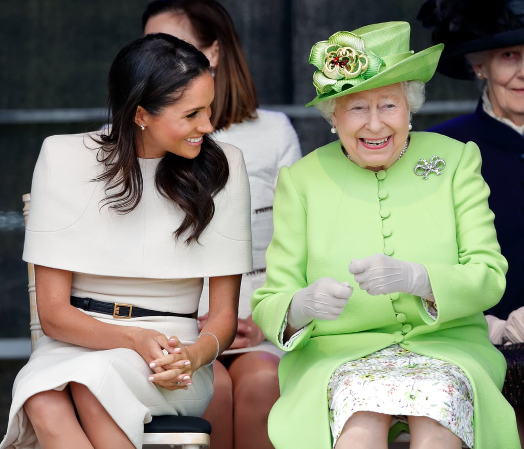 October 2017: Meghan Meets the Queen