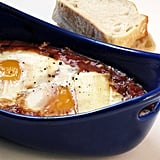 Baked Eggs in Moroccan-Spiced Tomato Sauce