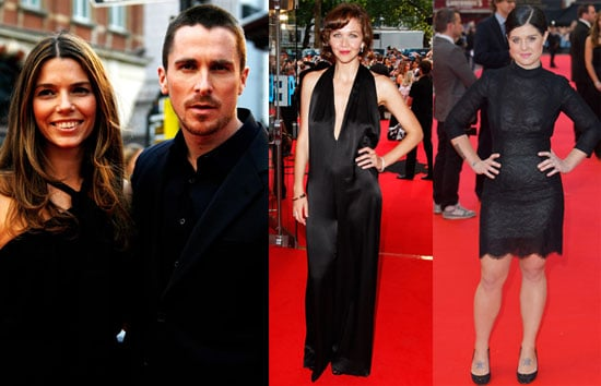 Photos of Christian Bale, Maggie Gyllanhaal at the London Premiere of The Dark Knight