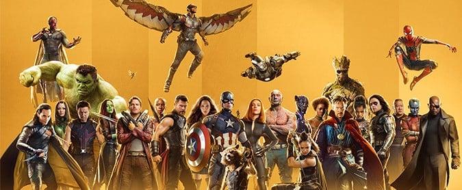 Marvel Studios Celebrating 10th Anniversary Posters