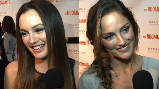 Video: Leighton Meester and Minka Kelly Talk Sex Scenes, Jennifer Aniston, and Bad Roommates!