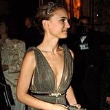 Natalie Portman looked stunning after the 2005 Oscars at the Governors Ball.