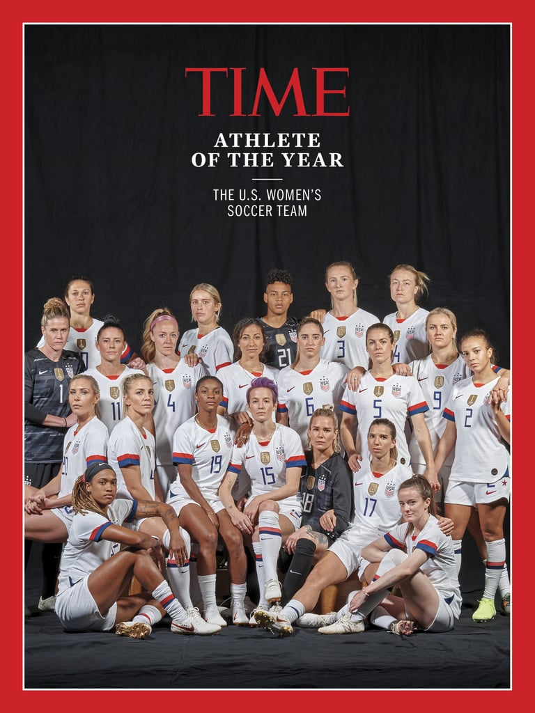 The US Women's Soccer Team Is TIME Athlete of the Year — You Bet They're Doing a Power Pose