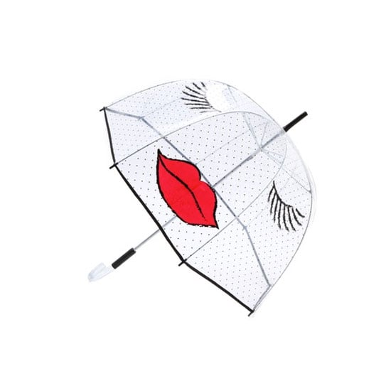 I hate the rain, but this adorable Felix Rey kissy face umbrella ($65) is sure to bring a smile to my face every time I pop it open. — CDC