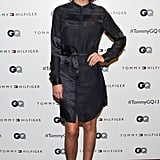 Leigh Lezark at the Tommy Hilfiger and GQ Men of New York party.