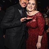 Pictured: Lionel Richie and Adele