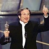 He made a memorable speech in March 1998 while accepting the best supporting actor Oscar for his role in Good Will Hunting.