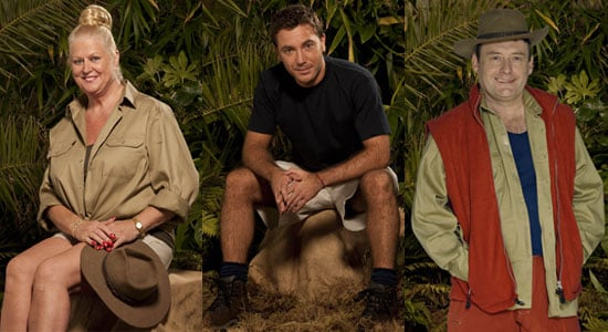 Photos of Kim Woodburn, Gino D'Acampo, Jimmy White Who Are In I'm a Celebrity 2009 Final