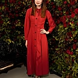 Gemma Chan at the Burberry Party