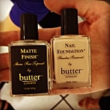 Butter London put the matte nail trend to the test at Band of Outsiders.