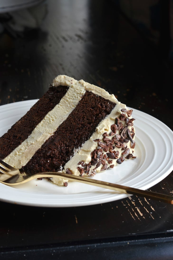 Chocolate-Honey Layer Cake With Salted Honey Frosting and ...