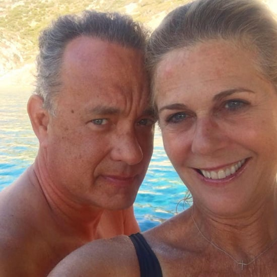 Cute Tom Hanks and Rita Wilson Pictures
