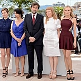 Diane Kruger, Andrea Arnold, President of the Jury Nanni Moretti, Hiam Abbass, and Emmanuelle Devos got together at the jury photocall for the Cannes Film Festival.