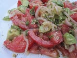 Tomato and Avocado Salad Recipe 2011-07-05 17:16:43