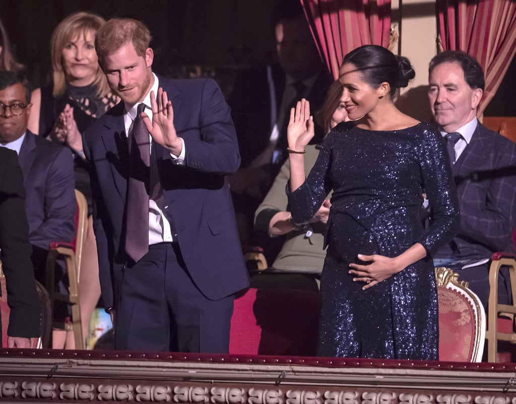 Meghan Markle and Prince Harry at Cirque du Soleil Show 2019