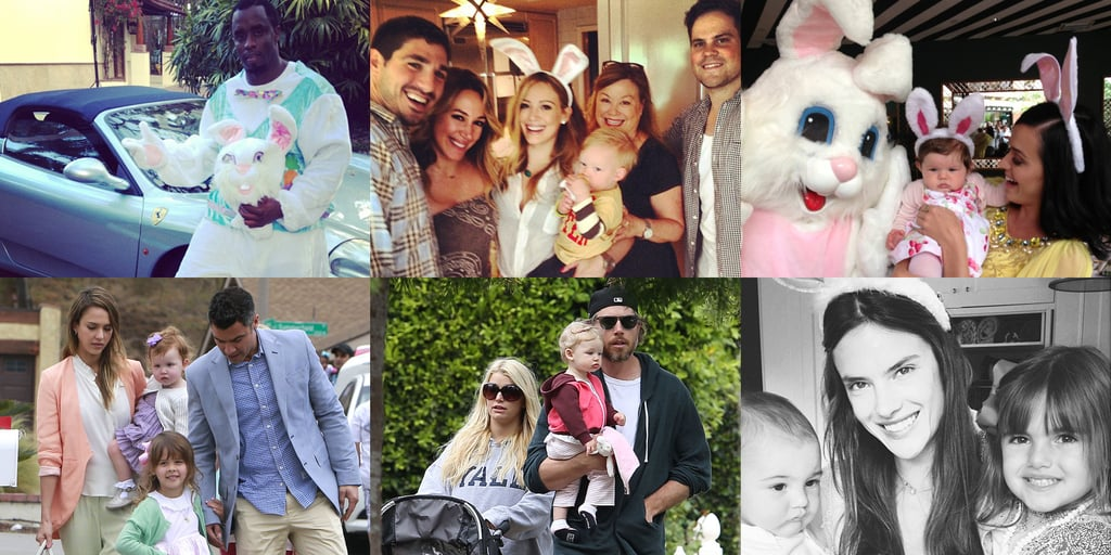 Celebrity Pictures on Easter Weekend 2013