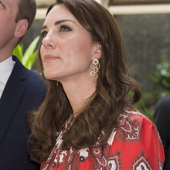 Princess Kate Wears Alexander McQueen Dress in Mumbai
