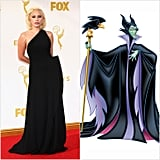Lady Gaga as Maleficent