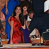 George Clooney and Amal Alamuddin's Wedding Preparations