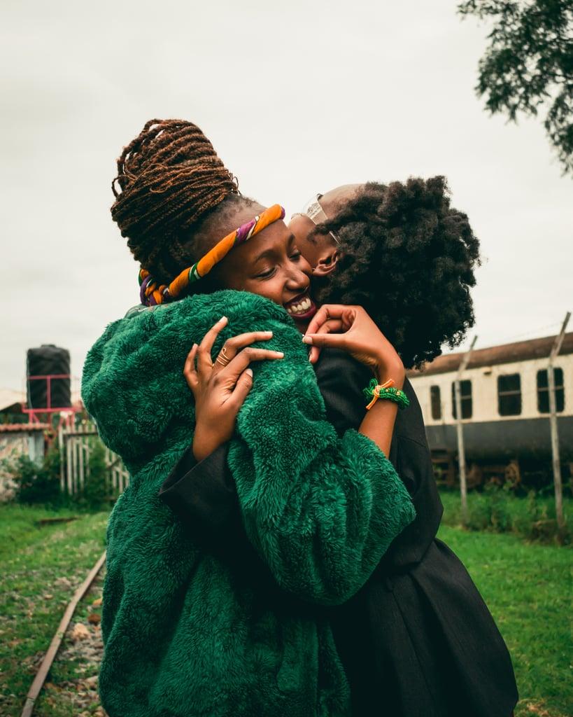 Hug someone you love like you mean it.