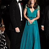Prince William and Kate Middleton at the 2018 Tusk Awards