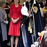 Kate Middleton at the Order of the Garter Service 2016